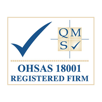 QMS ISO 18001 Registered Firm